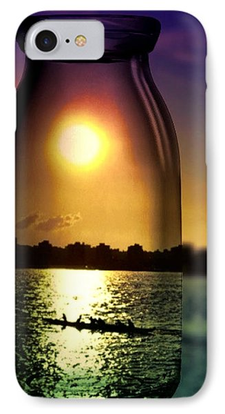 A View Upon The Hudson IPhone Case by Natasha Marco