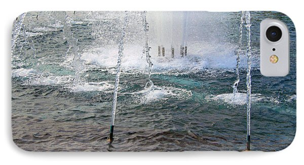 IPhone Case featuring the photograph A World War Fountain by Cora Wandel