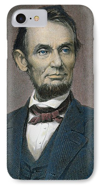 Abraham Lincoln IPhone Case by American School