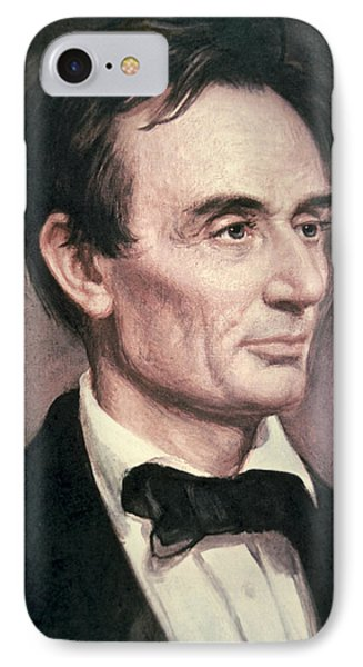 Abraham Lincoln Phone Case by George Peter Alexander Healy