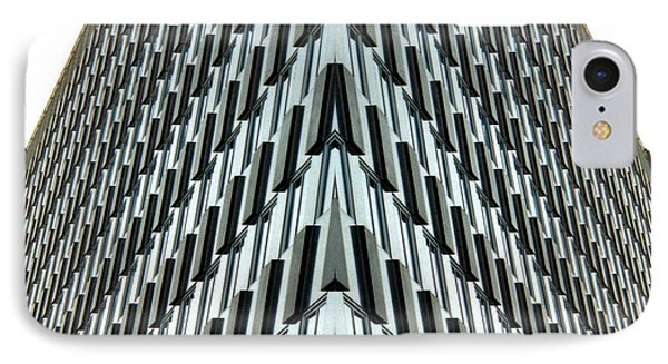 Abstract Buildings 4 Phone Case by J D Owen