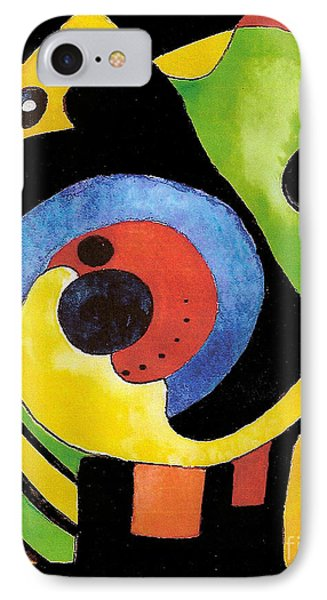 IPhone Case featuring the painting Abstract Dream by Nan Wright