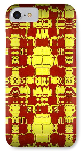 Abstract Series 4 Phone Case by J D Owen