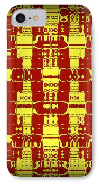Abstract Series 7 Phone Case by J D Owen
