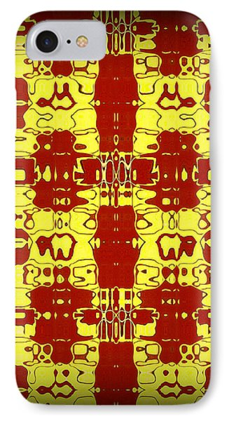 Abstract Series 8 Phone Case by J D Owen
