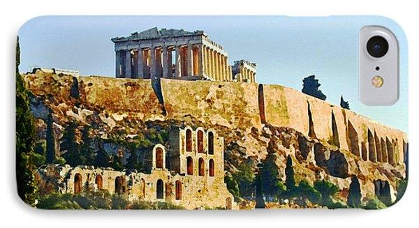 Acropolis Phone Case by Ellen Henneke