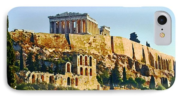 Acropolis IPhone Case by Ellen Henneke