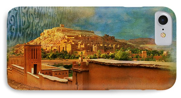 Ait Benhaddou  IPhone Case by Catf