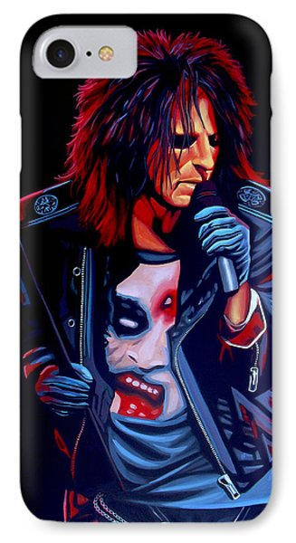Alice Cooper  Phone Case by Paul Meijering