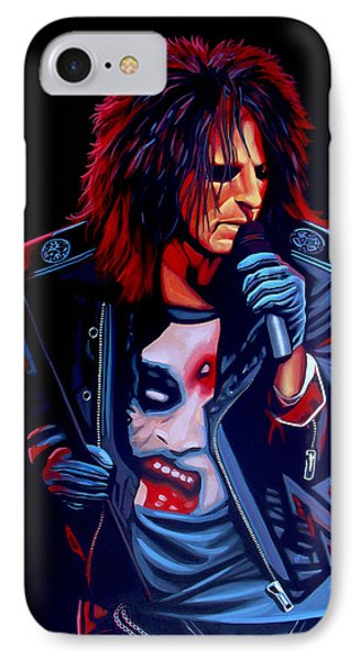 Alice Cooper  Phone Case by Paul Meijering