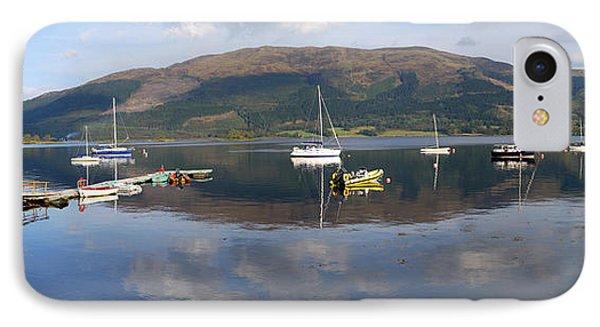 Along Loch Leven 3 IPhone Case by Wendy Wilton