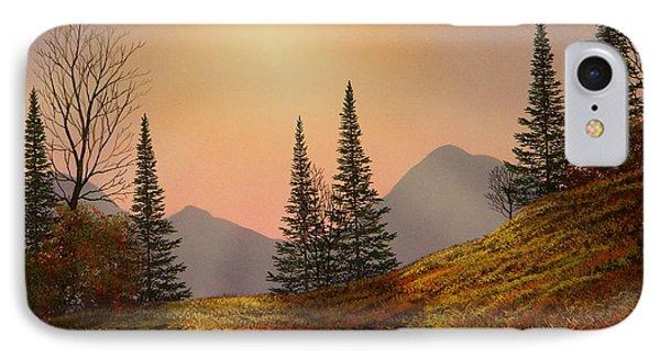 Alpine Sunset Phone Case by Frank Wilson