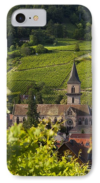 Alsace Church Phone Case by Brian Jannsen