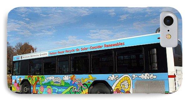 Ameren Missouri And Missouri Botanical Garden Metro Bus IPhone Case by Genevieve Esson