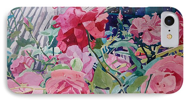 American Beauty IPhone Case by Terry Holliday