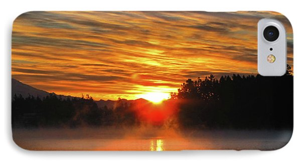 IPhone Case featuring the photograph American Lake Sunrise by Tikvah's Hope