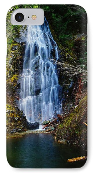 An Angel In The Falls Phone Case by Jeff Swan