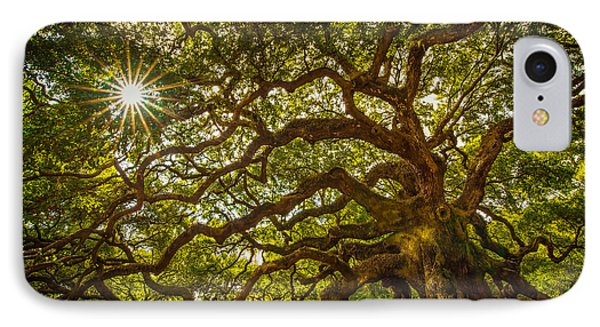 Angel Oak IPhone Case by Serge Skiba