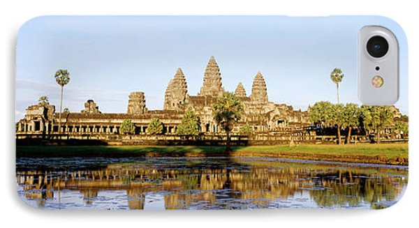 Angkor Wat, Cambodia IPhone Case by Panoramic Images