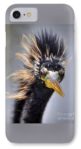 IPhone Case featuring the photograph Anhinga  by Savannah Gibbs