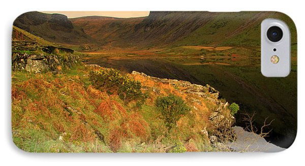 IPhone Case featuring the photograph Annascaul Lake by Barbara Walsh
