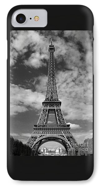 Architectural Standout Bw IPhone Case by Ann Horn