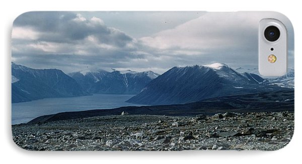 Arctic Baffin Island IPhone Case by Ted Pollard