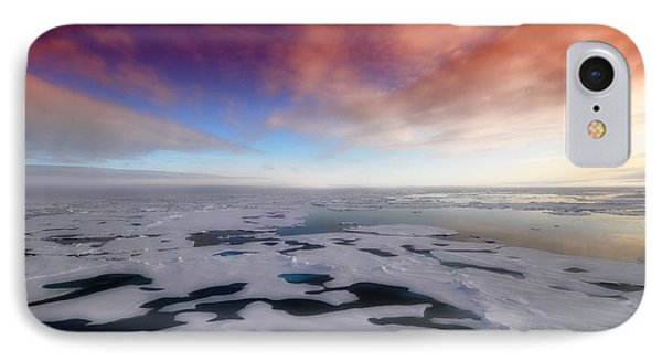 IPhone Case featuring the photograph Arctic Sea Ocean Water Antarctica Winter Snow by Paul Fearn