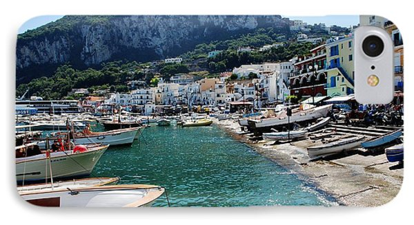 Arrival To Capri  IPhone Case