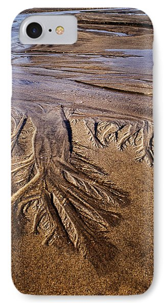 Artwork Of The Tides IPhone Case by Gary Slawsky