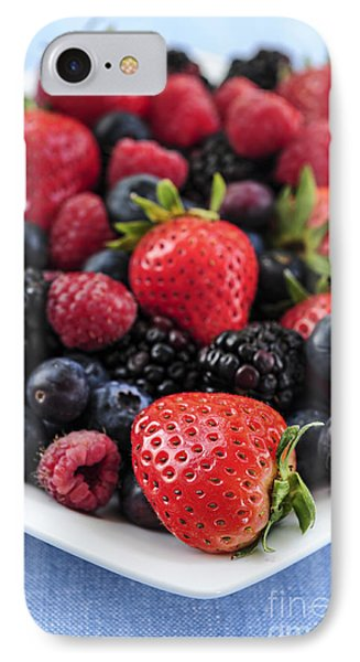 Assorted Fresh Berries IPhone 7 Case