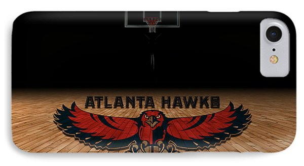 Atlanta Hawks IPhone Case by Joe Hamilton