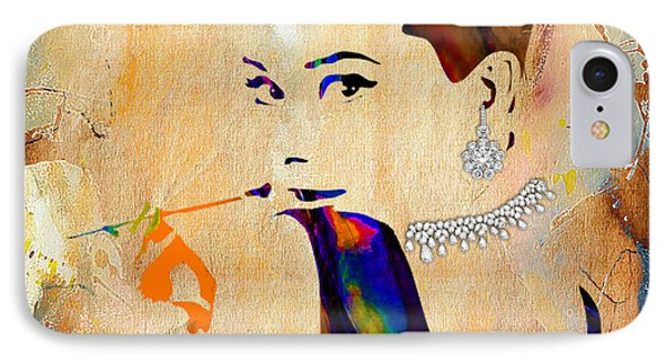 Audrey Hepburn Diamond Collection IPhone Case