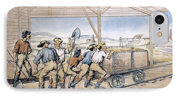 Australia Gold Mine, 1867 IPhone Case by Granger