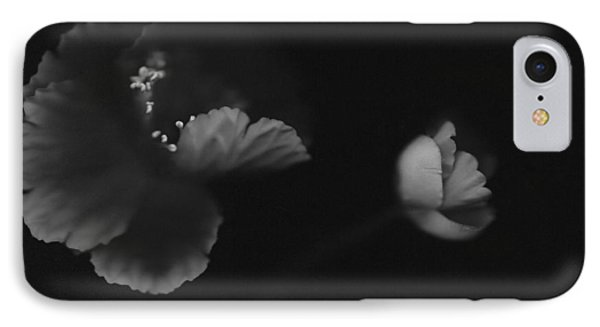 Autographic Poppies IPhone Case