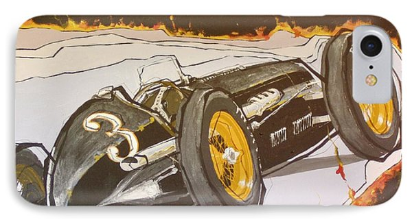 Automobile Racing Phone Case by Paul Guyer