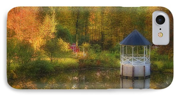 Autumn Gazebo Phone Case by Joann Vitali