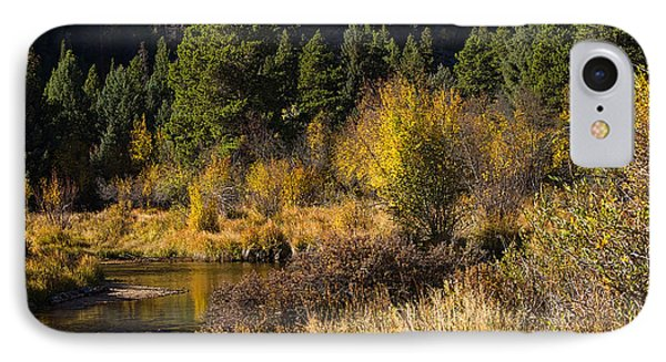 Autumn In The Rockies IPhone Case by Anne Rodkin