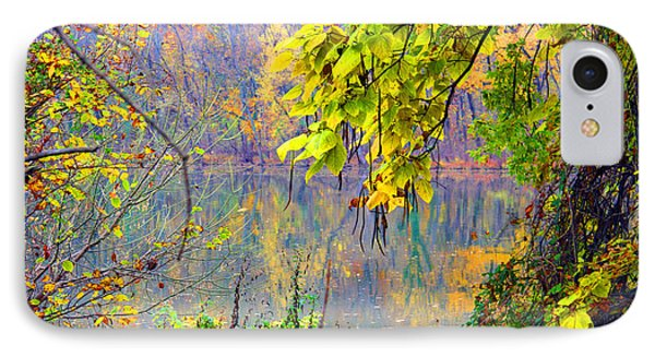 Autumn On Roosevelt Island IPhone Case