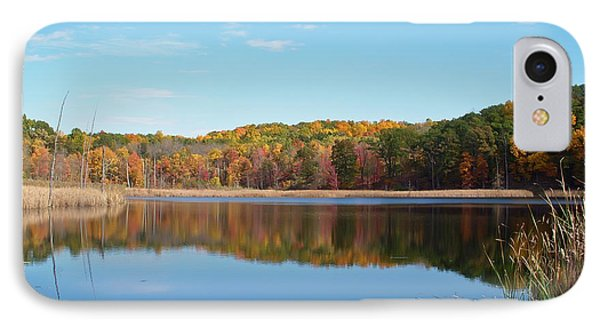 Autumn Pond IPhone Case by Aimee L Maher Photography and Art Visit ALMGallerydotcom