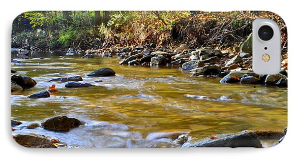 Autumn Stream Phone Case by Frozen in Time Fine Art Photography