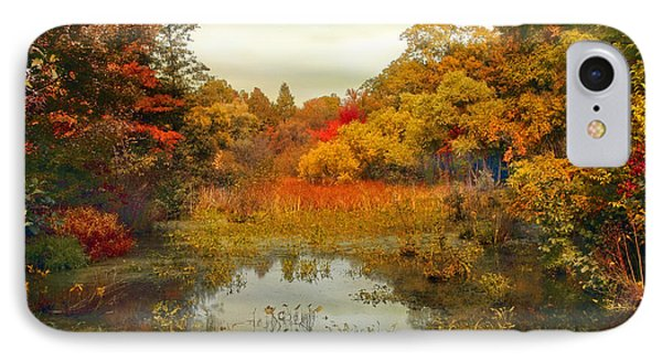 Autumn Wetlands IPhone Case by Jessica Jenney