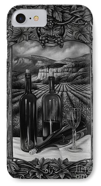 Bacchus Vineyard Phone Case by Ricardo Chavez-Mendez