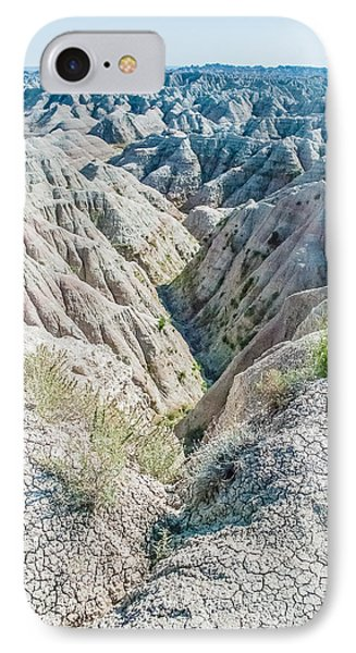 Badlands Lan409 IPhone Case by G L Sarti