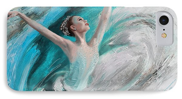 Ballerina  IPhone Case by Corporate Art Task Force