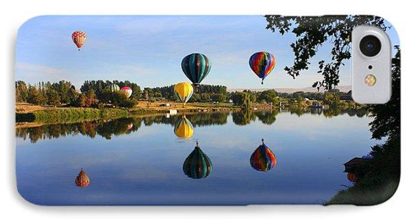 Balloons Heading East Phone Case by Carol Groenen