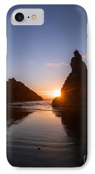 Bandon Beach Sunset IPhone Case