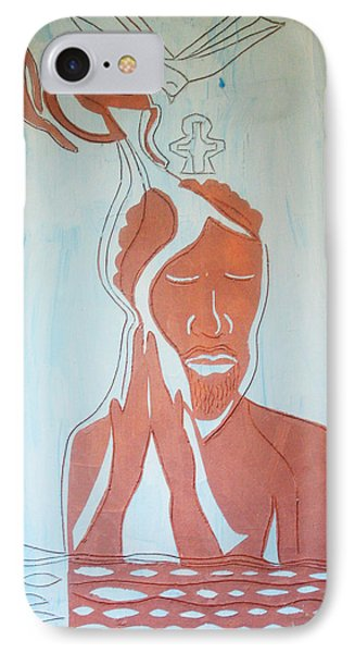 Baptism Of The Lord Jesus Phone Case by Gloria Ssali