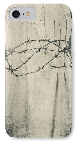 Barbed Wire Phone Case by Joana Kruse