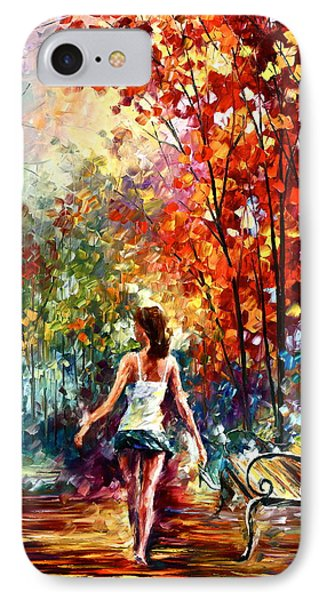 Barefooted Stroll Phone Case by Leonid Afremov